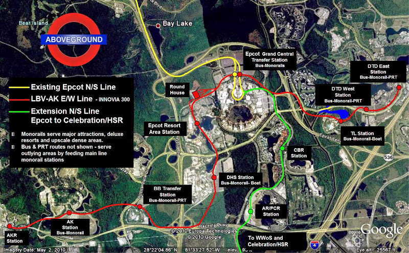 Disney Monorail System Map – Best Cars 2018