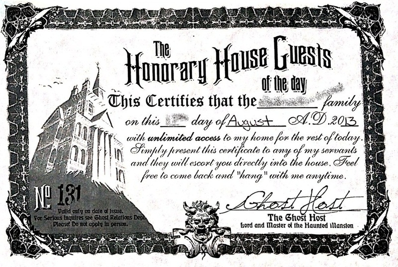 Honorary House Guests Haunted Mansion Micechat