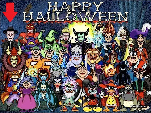 Disney Villains Happy Halloween A Question Micechat