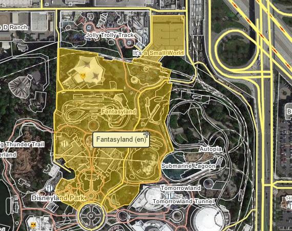 Fantasyland Expansion Is It Possible MiceChat - Disneyland brazil map