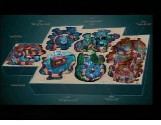 Overview of Voyage of the Little Mermaid attraction layout.