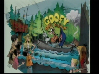 Artist rendering of the re-theme of Games of the Boardwalk game to Goofy Goes Fishing.  As seen on Disneyland CastTV.