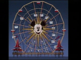 Artist rendering of re-theme of the Sun Wheel to Mickey's Fun Wheel.  As seen on Disneyland CastTV.